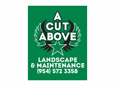 A Cut Above Landscape & Maintenance logo