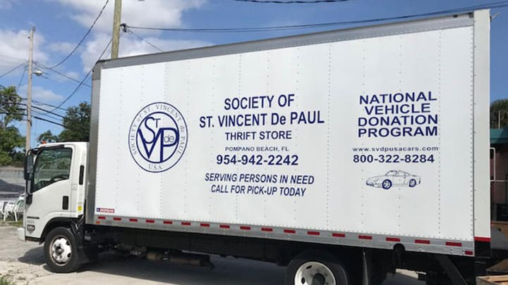 Make a Donation | Society of St  Vincent de Paul North Broward